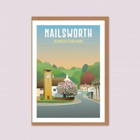 Nailsworth Greeting Card
