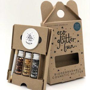 Eco Glitter Fun Pure 3pcs Metallic Box Kit