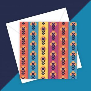 SCANDI 5 greeting card - blank inside - 4B8F9093 A2C6 4264 8B45 94CD0021E0E9 500x500