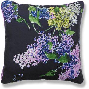 Hydrangeas (50 x 50cm) - 917 a purple floral cushion Hydrangeas 500x500