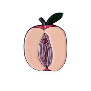 """Enamel Pin """"Apple"""""""