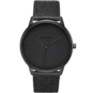 Black & Piñatex With Black   Aalto Watch