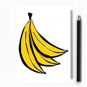 Banana Greeting Card – Case of 10