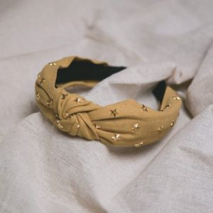 Bella Star Headband - Yellow - Bella Yellow 1 500x500