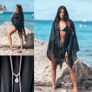 Black Sirena Cover Up