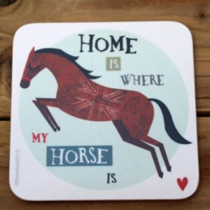 Home Is Where – Horse Coaster – CHC1 (Six pack)