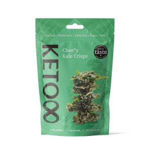 Organic Raw Cheezy Kale Crisps 50g – 6 bags per case