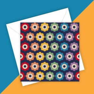 FLOWER POWER 5 greeting card - blank inside - D34B0CDB D0BA 49E2 8F61 A0EA9E5B7083 500x500