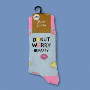 Unisex Donut Worry Socks