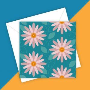 FLOWER POWER 3 greeting card - blank inside - EB93E021 0CD7 4E6B A5FB C0E85BCABAEA 500x500