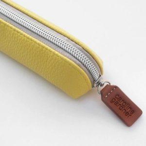 Yellow Small Pencil Case