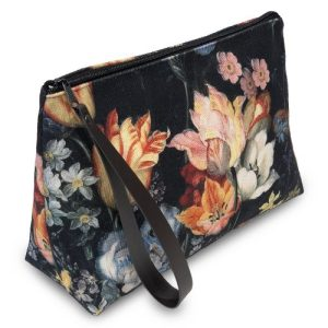 BAROQUE FLOWERS POUCH