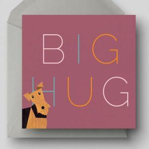 Big Hug Greetings Card - EllieGoodIllustration BigHug card 500x500
