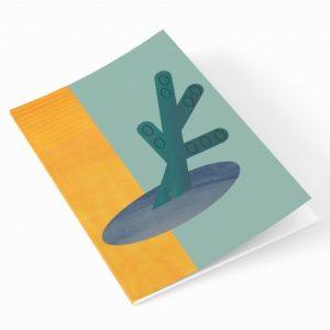 Dorset Abstract A5 Notebook - EllieGoodIllustration DorsetAbstract A5 notebook crop 500x500