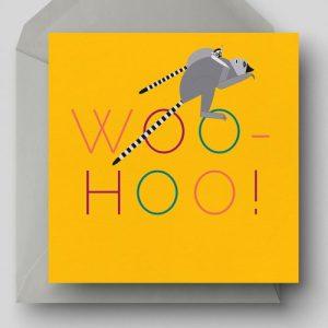 Woo Hoo! Greetings Card - EllieGoodIllustration Woohoo card 500x500