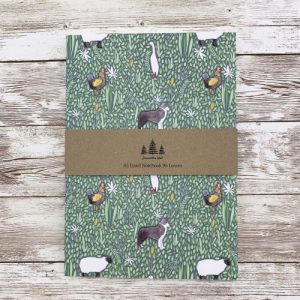Farm Animals Thick A5 Lined Notebook - IMG 1035 scaled 1 500x500