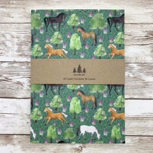 Horse Thick A5 Lined Notebook - IMG 1146 scaled 1 500x500