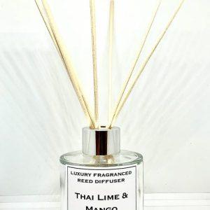 Thai Lime & Mango Natural Reed Diffuser - IMG 1673 500x500