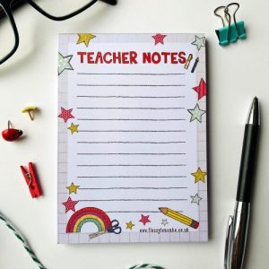 Teacher Notes A6 Notepad - IMG 20210224 124041 500x500
