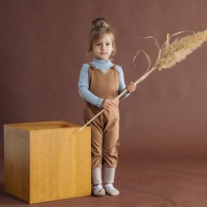 Grow-with-me Dungaree (Sandcastle)
