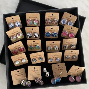 Bundle in jewelry box, motifs are only samples, selection depends on availability