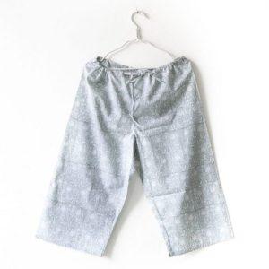 Block Print Lounge Pants – Grey
