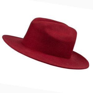 Fedora Hat - Burgundy - IMG 6141 500x500