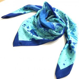 Blue Scarf Unapologetically Me