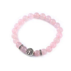 Rose Quartz Energy Stone Bracelet