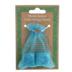 Turquoise Energy Bagged Stones