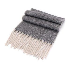 Grey Blended Wrap