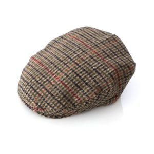 Tweed Cap Check Hounstooth Extra Extra Large