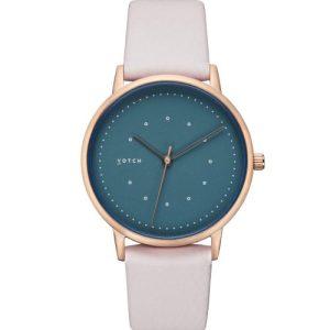 Rose Gold & Light Grey With Blue | Lyka Watch