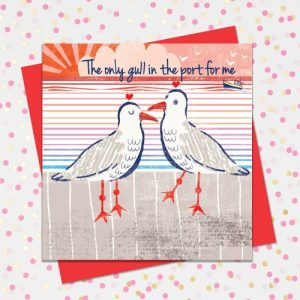 NAU21 'The only gull in the port for me' from 'Nautical but Nice' range. - Nau21 1 500x500