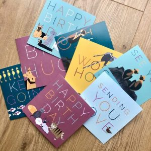 Pack of 8 Thoughtful Greetings Cards - New Range pack 3 500x500