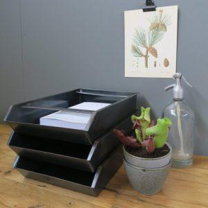 Paper Tray Steel (2 PCS) by Brut Homeware
