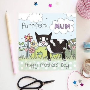 Flossy Teacake Purrfect Mum Card - Purrfect Mum 500x500