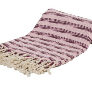 Samimi Fortuna – Hamam Towel Rose/Cherry