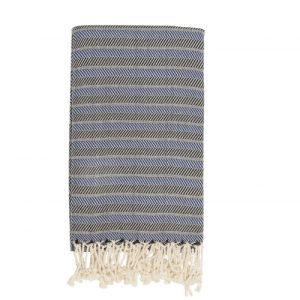 Samimi Fortuna – Hamam Towel Blue/Black