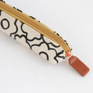 Doodle Flower Small Pencil Case