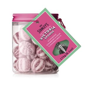 Victoria Sponge Sweets ( Strawberry & Vanilla Flavoured Boiled Sweets )
