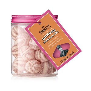 Dundee Marmalade Sweets (Orange & Vanilla Flavoured Boiled Sweets)