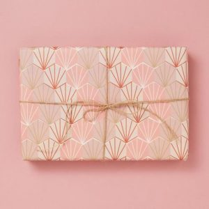 Deco Shells Pink – Gift Wrap