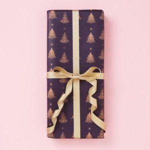 Tree Purple – Christmas Gift Wrap