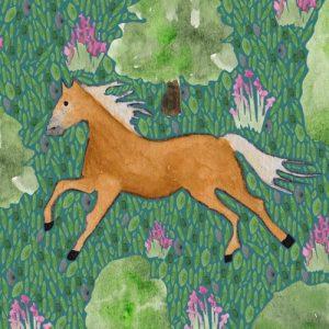 Haflinger Horse blank greeting card - Untitled 1 1 500x500