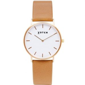 Gold & Tan   Classic Watch