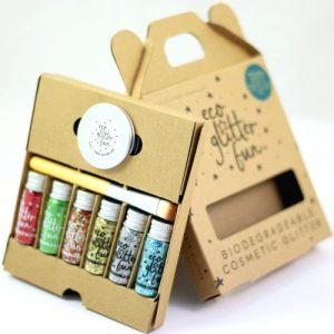 Eco Glitter Fun Sparkle 6pcs Christmas Blends Boxed Kit