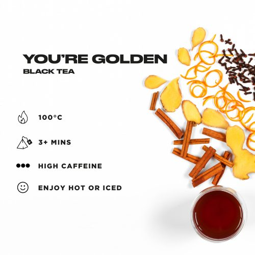 You're Golden – Ginger & Orange Flavour Black Tea