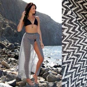 Zigzag Mila Beach Skirt