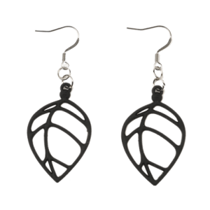 Acacia Earrings Black - acacia bo bck